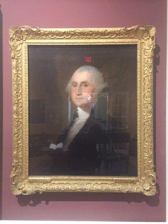 Morristown, NJ : Washiington's portrait