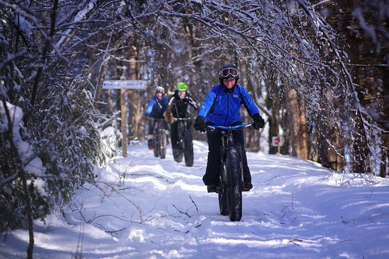 Saint-Raymond, Canada: Fat bike