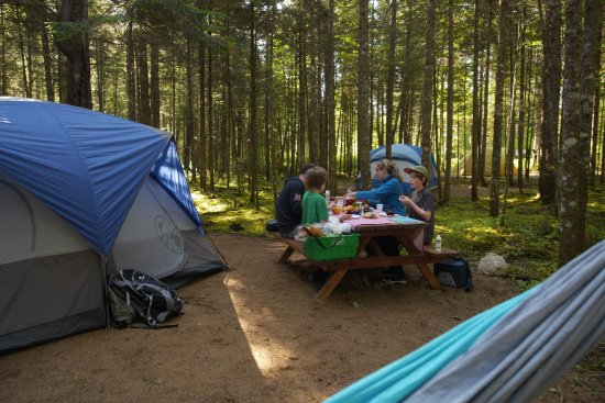 Saint-Raymond, Καναδάς: Camping Shannahan