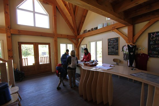 Saint-Raymond, Canada: Shannahan welcome centre