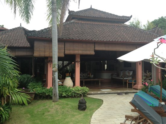 Dyana Villas: view of our villa