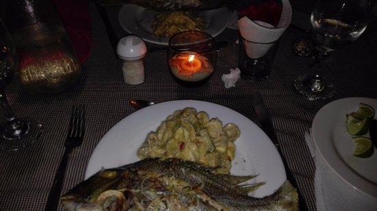 Posada El Botuto : Comida de la noche