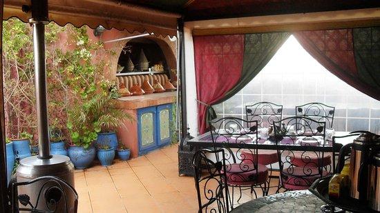 Riad Le Mazagao : en terrasse