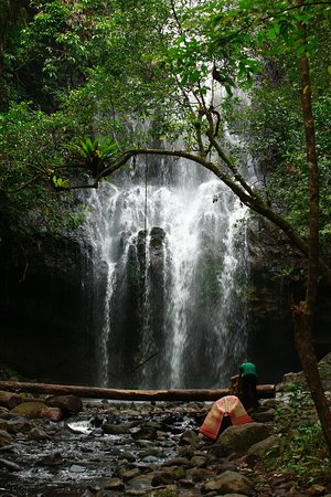 Dak Nong Province, Vietnam: Luu Ly waterfall located in Nam Nung Nature Reserved