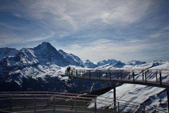 Top Of The Walk Bild Von First Cliff Walk By Tissot Grindelwald
