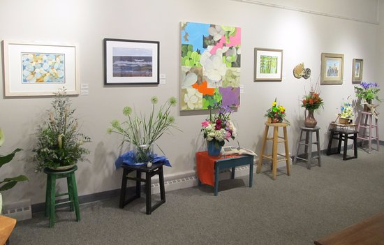 Portage, WI: Art that Blooms in the Drury Gallery