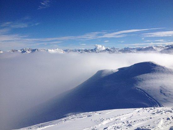 Carosello 3000 - Ski Area Livigno: view from the top