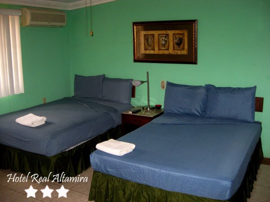 Hotel Real Altamira: Habitacion Doble