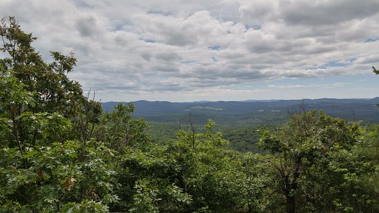 Hiram, ME: View from the top of Oak Hill