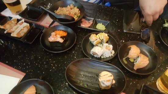 Sumo Sushi & Grill: mesa sempre cheia