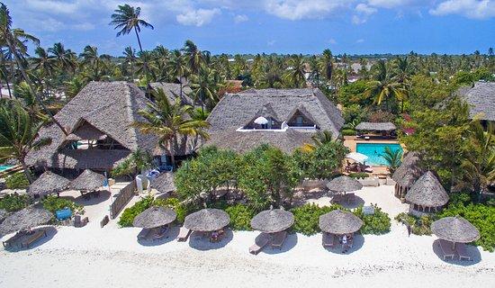 Birds view of Zanzibar Retreat Hotel