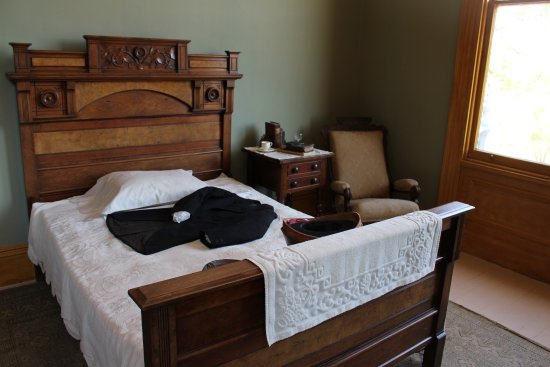 Martinez, Califórnia: John Muir National Historic Site - John Muir's Bedroom