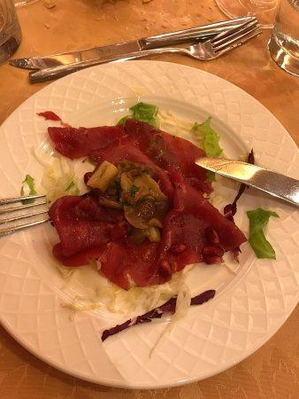 Hotel Ariston: Albergo molto caratteristico e ottimo cibo.