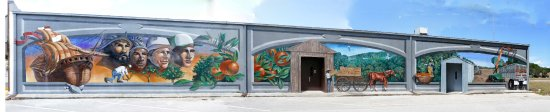 Лейк-Плэсид, Флорида: Orange industry mural