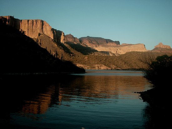 Arizona central, AZ : Apache Lake, Arizona