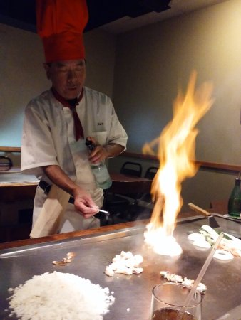 Saga Japanese Steak House