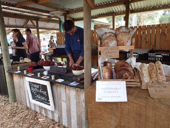 Hermanus, Sydafrika: Breads and cheeses
