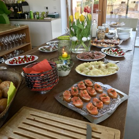 Furth, Austria: breakfast buffet