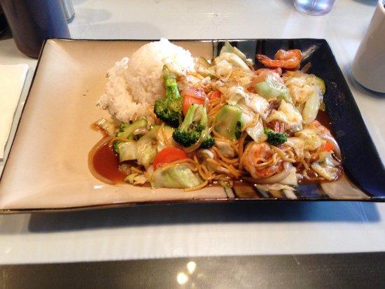 Bothell, WA: Shrimp yakisoba