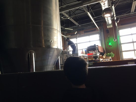Taps On Queen Brewhouse and Grill: Brewery