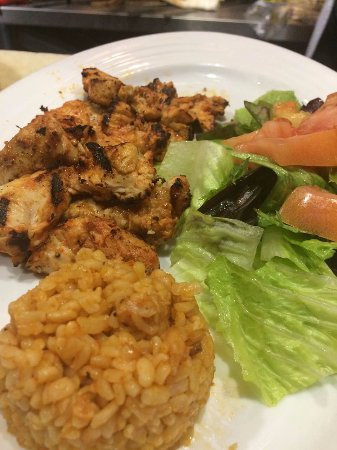Ballston Spa, NY: Grilled Chicken Lunch Platter