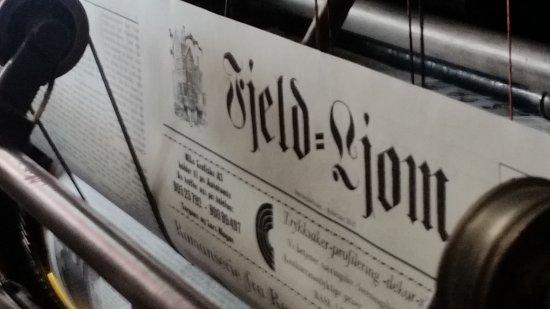 Newspaper Museum - Fjell-Ljom: 20170401_134019_large.jpg
