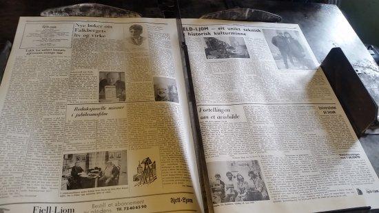 Newspaper Museum - Fjell-Ljom: 20170401_133947_large.jpg