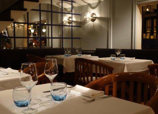 Restaurant La Salsa: Detalle del comedor.