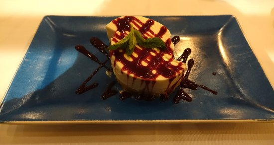 Restaurant La Salsa: Excelente tarta de queso casera.