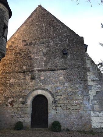 Saint-Georges-sur-Cher, Γαλλία: Chapel next to the living quarters