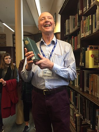 Linen Hall Library: A very excited tour guide