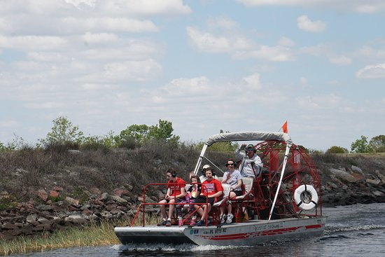 Spirit of the Swamp Airboat Rides: another airboat from Spirit of the Swamp