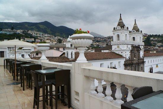 Casa Gangotena: The view from the terrace