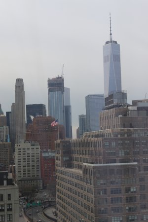 Good sized rooms, quality service & ideal location for taking in downtown NYC