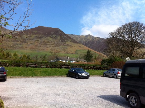 Threlkeld, UK: The view from the car park