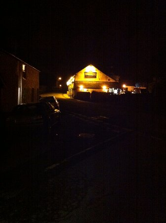Threlkeld, UK: Horse and Farrier by night