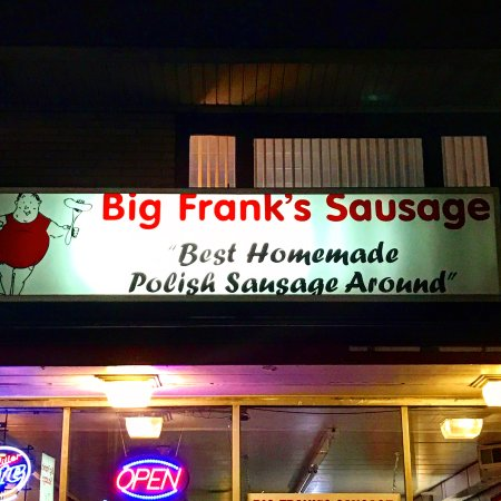 Big Frank's Sausage: Amazing.