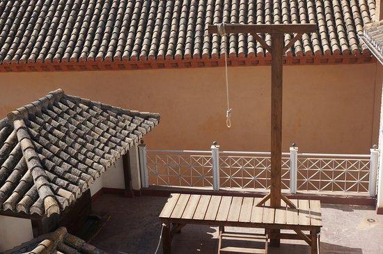 Palacio de los Olvidados: Views from Palace of the Forgotten. Inquisition: Torture devices