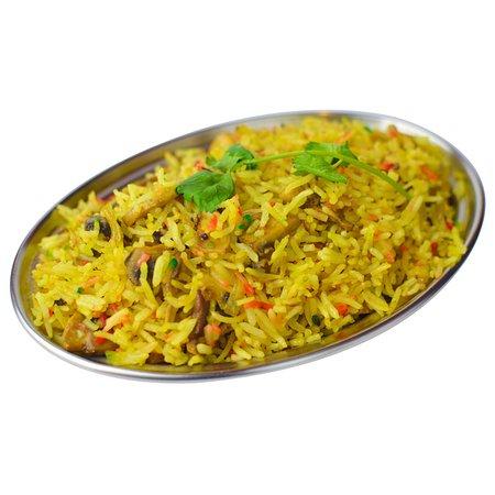 Spice India: Mashroom rice