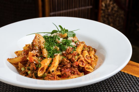 Castle Rock, CO: 6 meat bolognese with homemade cavatelli