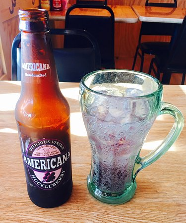 Glenns Ferry, ID: Huckleberry Soda yummmmmm !!