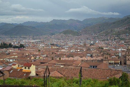 Iglesia de San Cristobal: Vista de Cuzco desde Iglesia San Cristobal