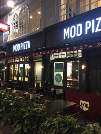 Photo of Pizza Place MOD Pizza at 17-18 Irving St, London WC2H 7AT, United Kingdom