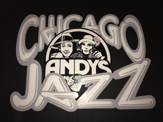 Andy's Jazz Club : Recently Retired Stage Backdrop That Has Been Refurbished & Repurposed.