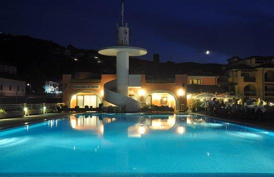 Muggia, Italien: Piscina dell'Hotel