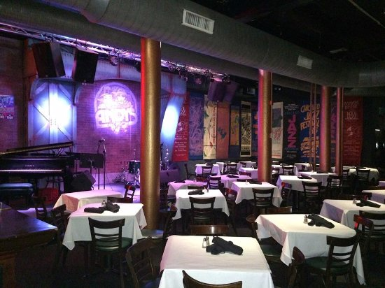 Andy's Jazz Club : Table Seating For Over 100 Diners In Front Of Our Stage.