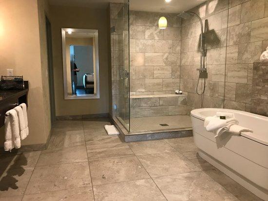 double sink large shower and soaking tub picture of hotel indigo rh tripadvisor com