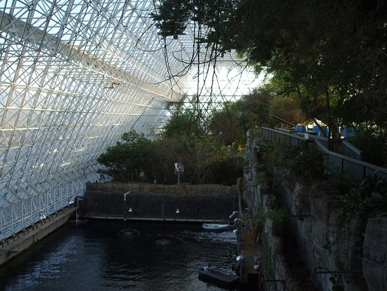 Biosphere 2: inside the green house.