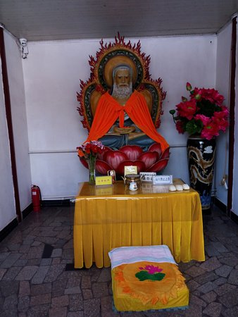 Haicheng, China: Da Mo or Bodhidharma