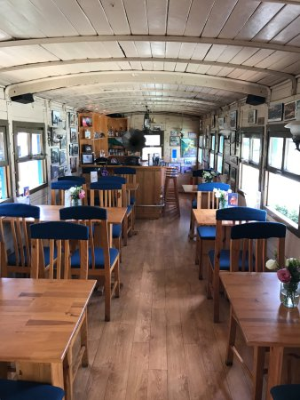 Dalat Train Cafe: Inside the train